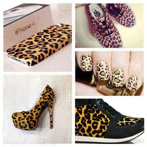 Γυναικεία παπούτσια και αξεσουάρ σε λεοπάρ
