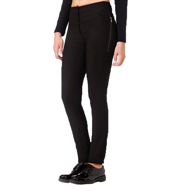 Παντελόνι μαύρο σε ίσια γραμμή ρούχα   bottoms   παντελόνια