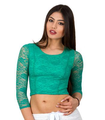Τοπ πράσινο δαντέλα home   ρούχα   μπλούζες   top   τοπάκια   μπουστάκια