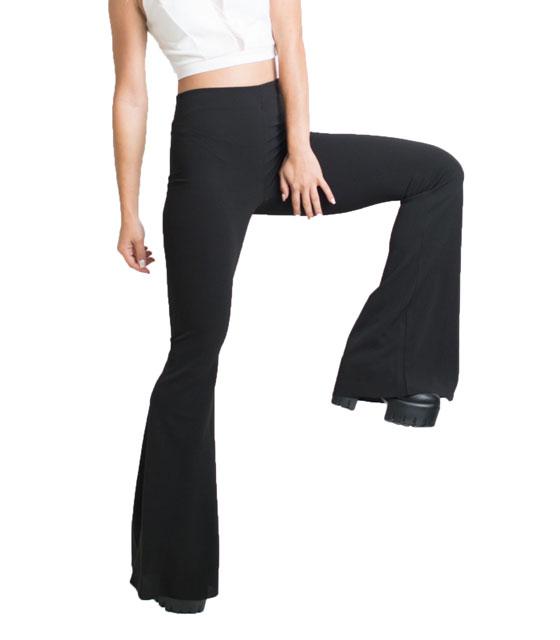 Παντελόνα καμπάνα Μαύρη ρούχα   bottoms   παντελόνια