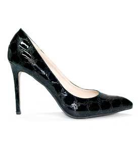 Γόβα μαύρη λουστρίνι παπούτσια   γόβες