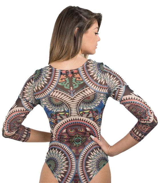 Κορμάκι διαφάνεια με γεωμετρικα σχέδια ρούχα   μπλούζες   top   κορμάκια