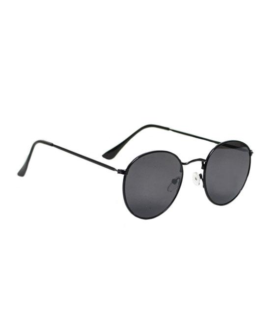 14e00fa78b Γυαλιά ηλίου οβάλ μαύρα