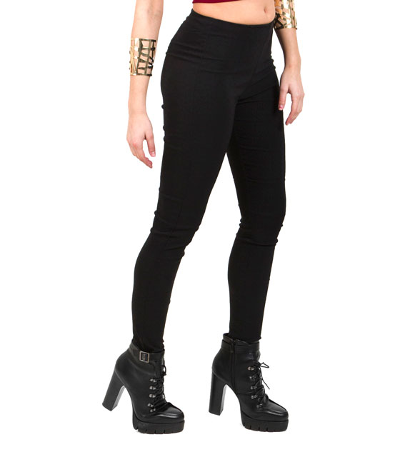 Κολάν ψηλοκάβαλο μαύρο ρούχα   bottoms   κολάν