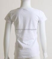 Παιδική κοντομάνικη μπλούζα με σχέδιο σκυλάκι (Λευκό)