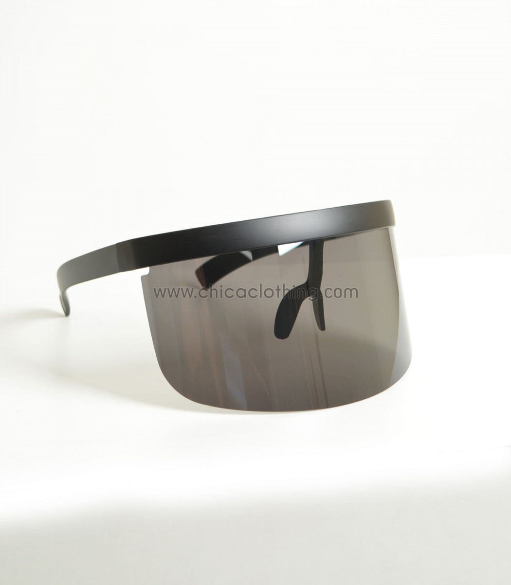7357f80cf9 Γυαλιά ηλίου μάσκα με μαύρο φακό
