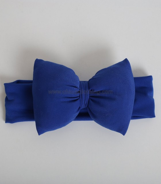 Παιδική κορδέλα με φιόγκο (Μπλε)