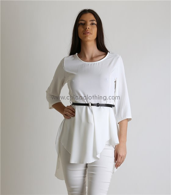 6fc4a35eaa15 Μακριές Μπλούζες Γυναικείες Ιδανικές Για Κολάν - Chica Clothing