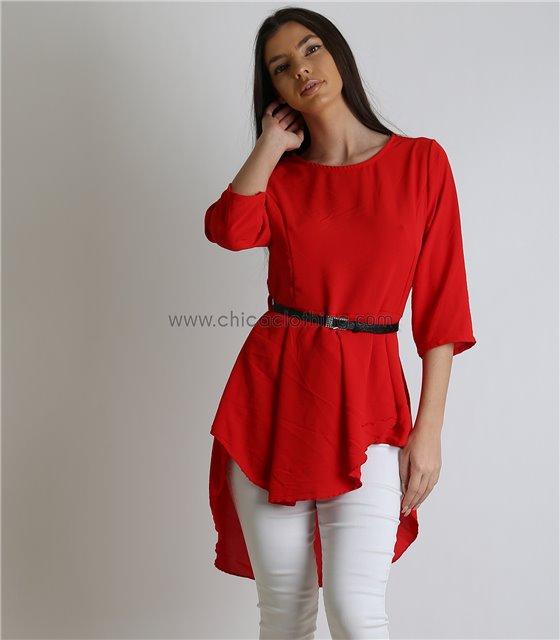 ac8dc6c6cc19 Μακριές Μπλούζες Γυναικείες Ιδανικές Για Κολάν - Chica Clothing