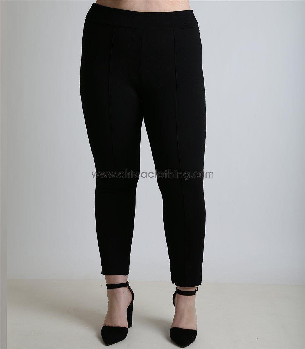 369ba376227b Γυναικείο παντελόνι - κολάν ελαστικό ψηλόμεσο (Μαύρο)