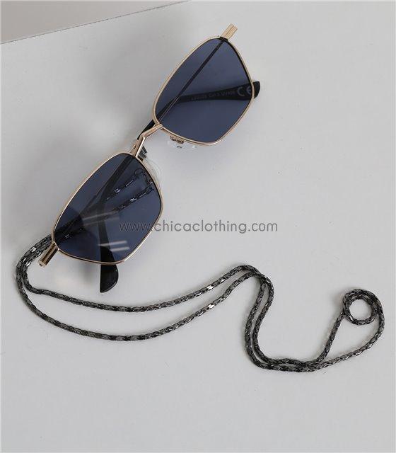 Μαύρη αλυσίδα γυαλιών