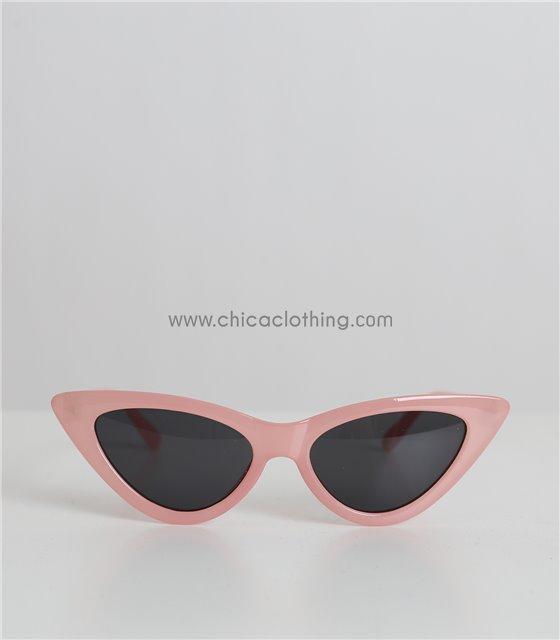 Παιδικά γυαλιά ηλίου cat-eye (Ροζ)