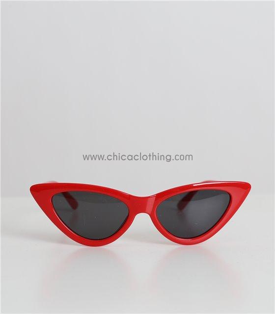 Παιδικά γυαλιά ηλίου cat-eye (Κόκκινο)