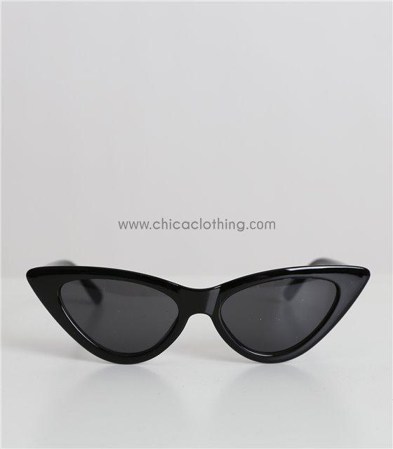 Παιδικά γυαλιά ηλίου cat-eye (Μαύρο)