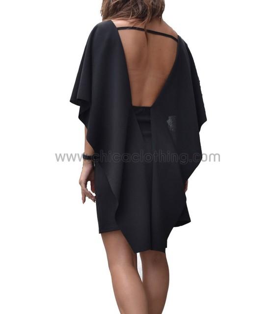 Black klos dress