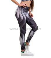 Leggings illusion print