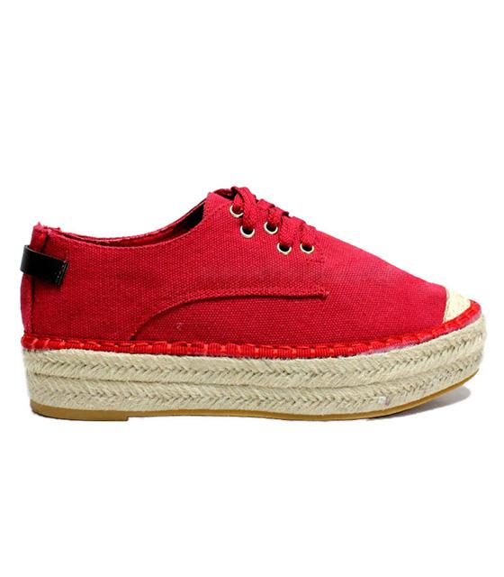 Espadrilles red