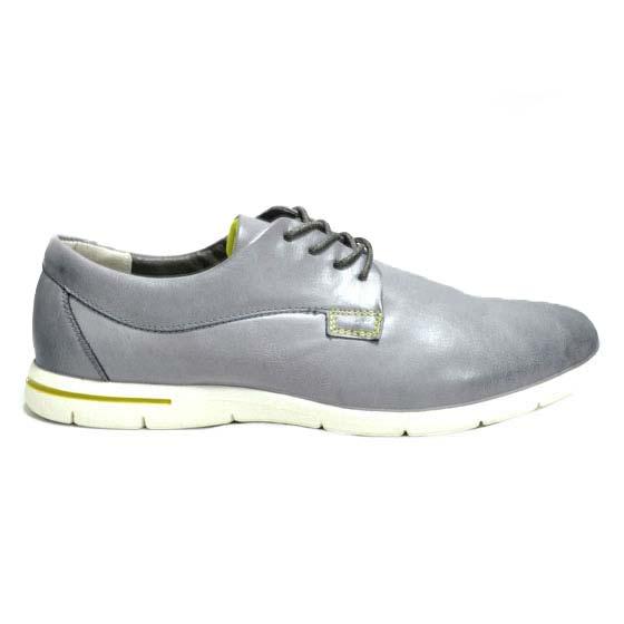 Ανδρικά δερματίνη παπούτσια γκρι