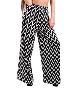Παντελόνα ψαροκόκκαλο ασπρόμαυρη ρούχα   bottoms   παντελόνια