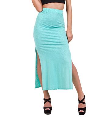 Μάξι φούστα ψηλόμεση βεραμάν ρούχα   bottoms   φούστες