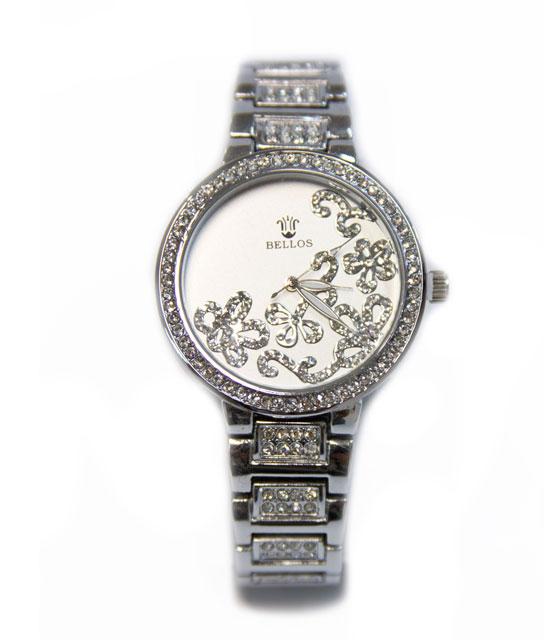 Ωρολόι faux bijoux ασημί