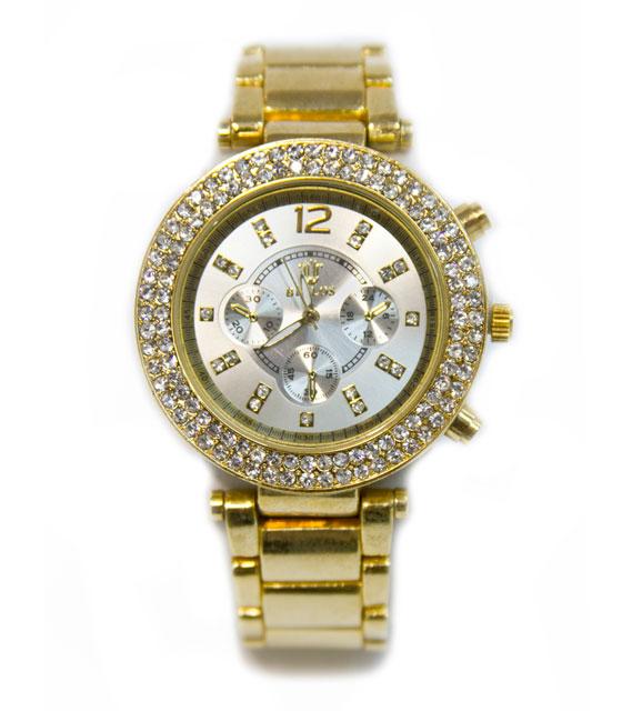 Ρολόι faux bijoux χρυσό (1523) αξεσουάρ   ρολόγια