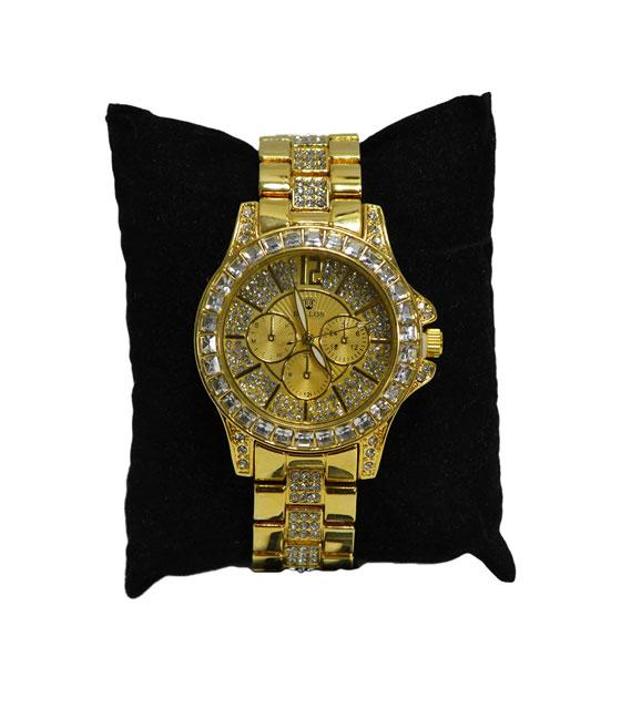 Ρολόι faux bijoux χρυσό αξεσουάρ   ρολόγια
