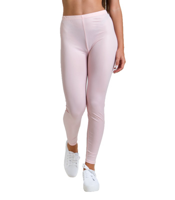 Metallic pop leggings pink