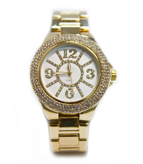 Ρολόι faux bijoux χρυσό (1771) αξεσουάρ   ρολόγια