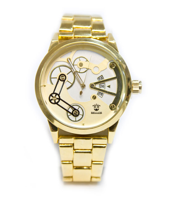 Ρολόι faux bijoux χρυσό (1772) αξεσουάρ   ρολόγια