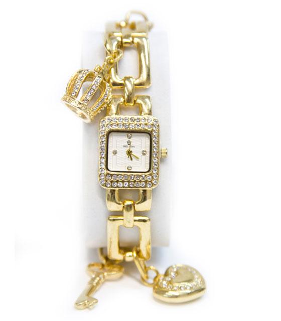 Ωρολόι faux bijoux αλυσιδα χρυσό