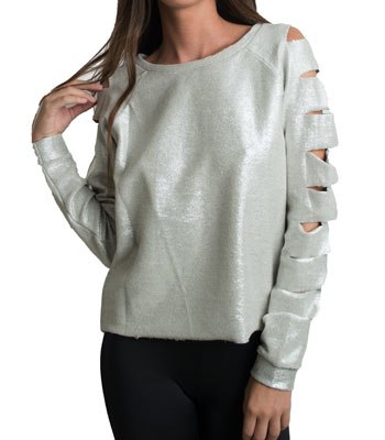 Gold hoodies
