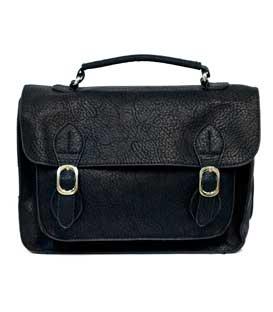 Shoulder bag postman black