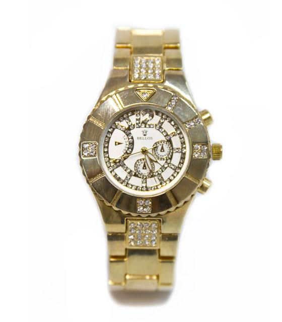 Ρολόι faux bijoux χρυσό (206) αξεσουάρ   ρολόγια