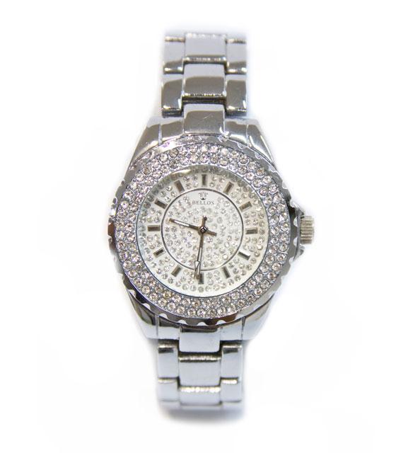 Ρολόι faux bijoux ασημί (208) αξεσουάρ   ρολόγια