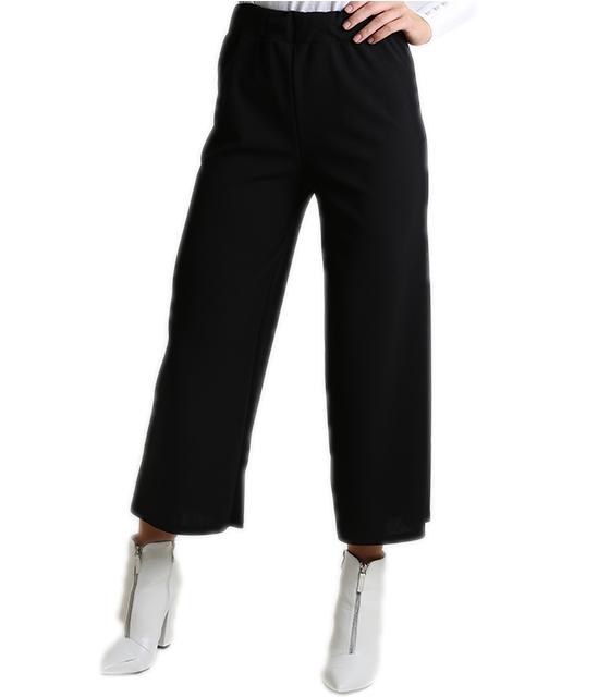 Ζιπ κιλότ (Μαύρη) ρούχα   bottoms   παντελόνια