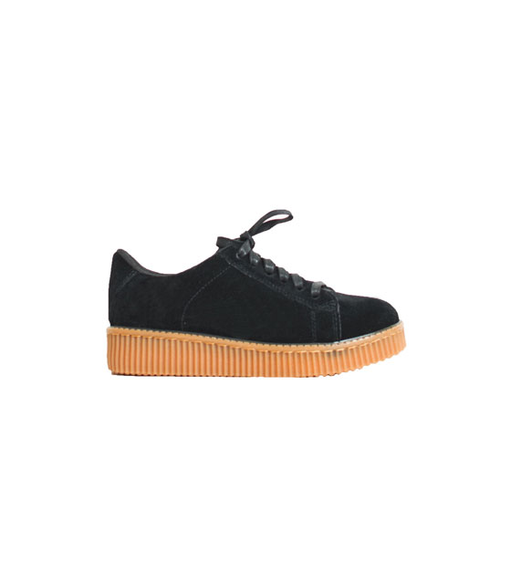 Creepers μαύρο κάμελ