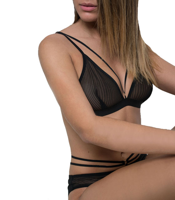 Set lingeries black