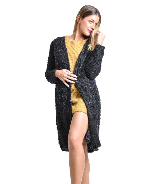 Lourex cardigan (Black)