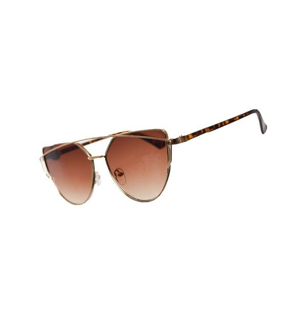 Γυαλιά ηλίου με καθρέφτη sepia αξεσουάρ   γυαλιά
