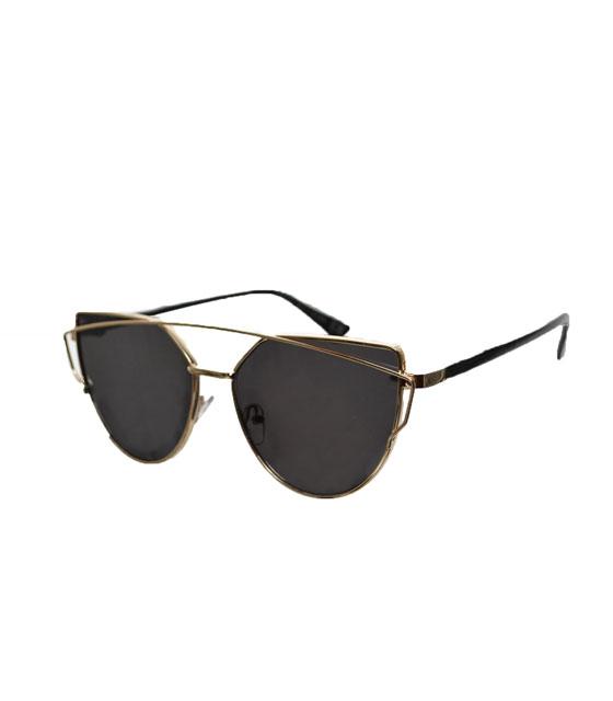 Γυαλιά ηλίου με μαύρο καθρέφτη
