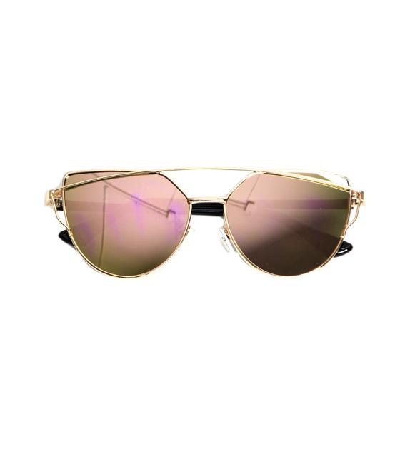 Γυαλιά ηλίου με ροζ καθρέφτη αξεσουάρ   γυαλιά