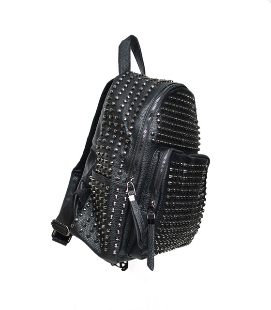Bag with studs (Black)
