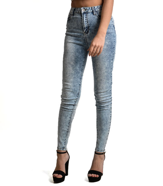 Hight waist slim fit jeans