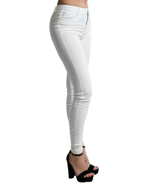 High weisted jeans (Ecru)