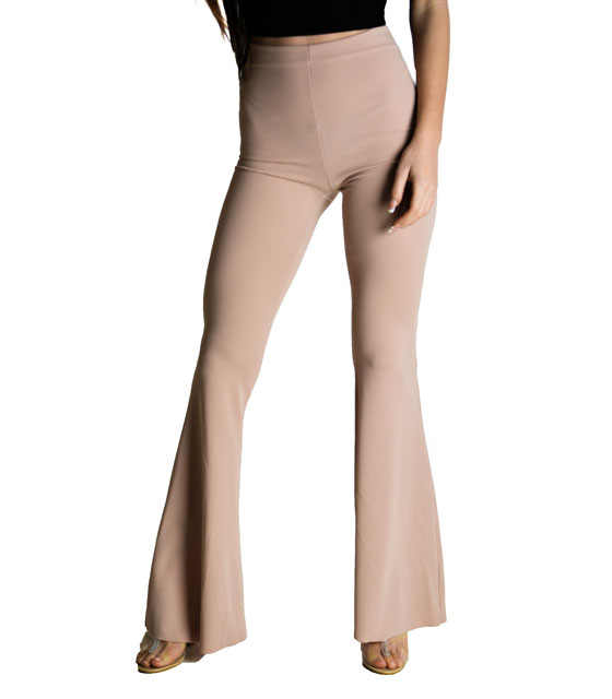 Flared trousers Pink