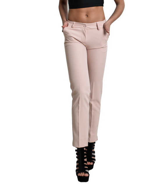 Chino trousers with pockets (Pink)