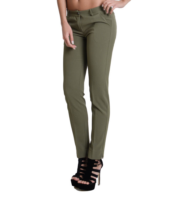 Chino trousers with pockets (Khaki)