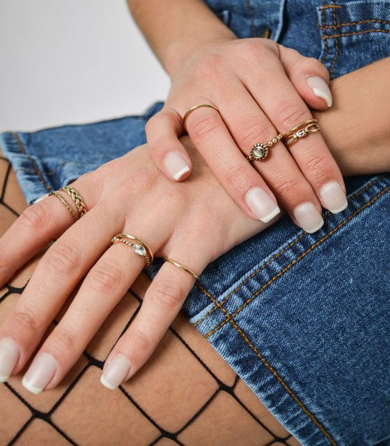 Rings package (gold)
