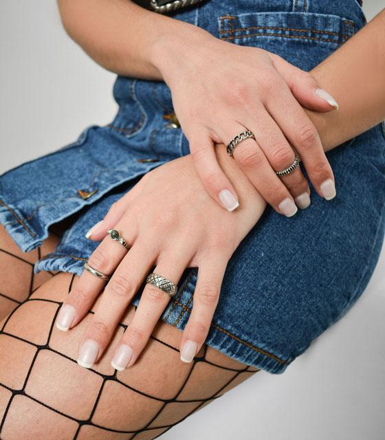 Rings package silver